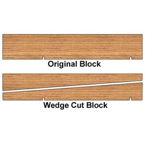 Pinewood Derby Block/Kit Option 9003