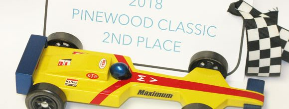 pinewood derby winner 2018