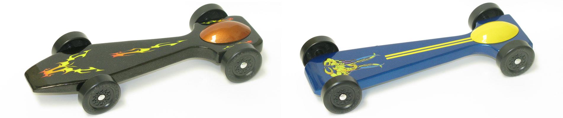 SuperCude Pinewood Derby Car Kit
