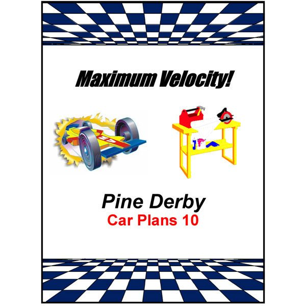 Pinewood Derby Car Plans 10