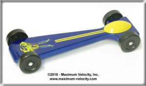 SuperCUDA Pinewood Derby Car Kit - Extended