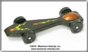 SuperCUDA Pinewood Derby Car Kit - Standard