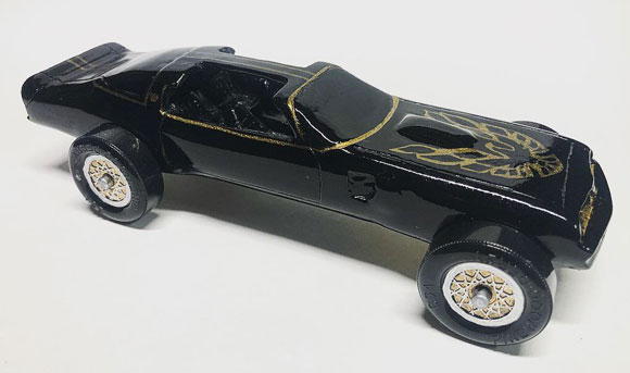 pinewood derby firebird 1