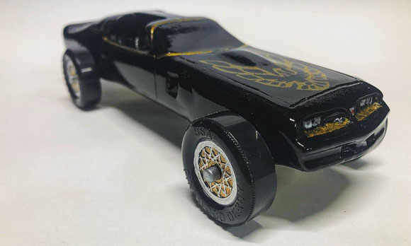 pinewood derby firebird 2