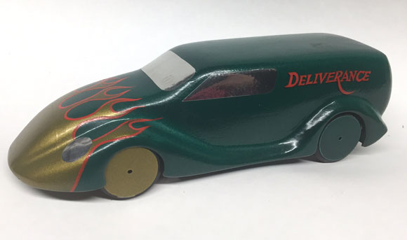 Pinewood Derby Car from Customer 1