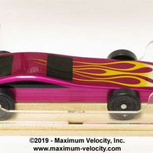 Pinewood Derby Race Management Software and Gauges