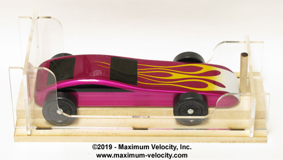 Pinewood Derby Car Inspection Gauge Maximum Velocity