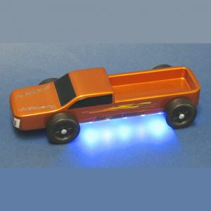 pinewood derby underglow lights