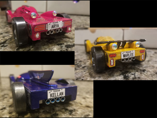 pinewood derby exotic cars