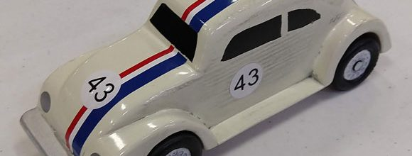 pinewood derby herbie car