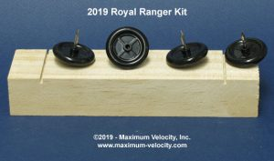 2019 Royal Ranger Pinewood Derby Kit